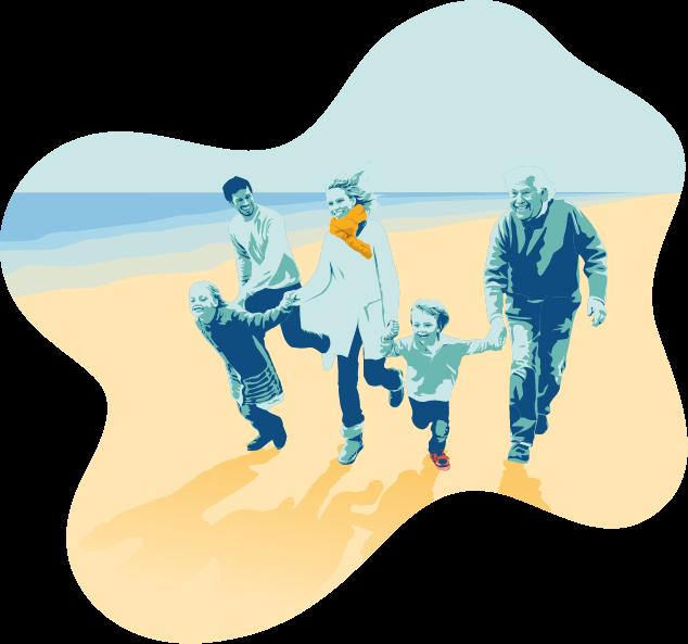 Illustration du droit de la famille, spécialité de votre notaire