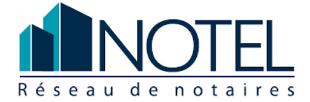 Logo de Notel Réseau de notaires