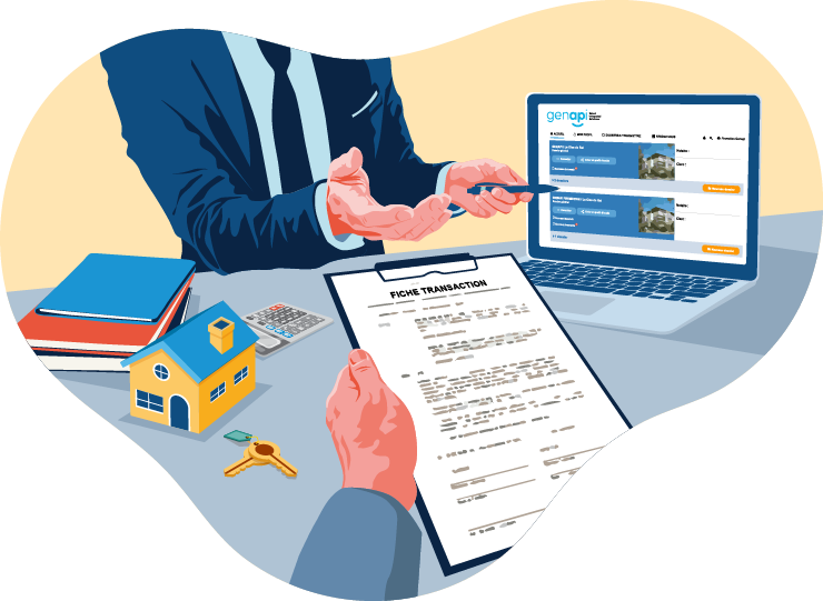 Espace professionnel pour les promoteurs immobiliers et les agences immobilières à Toulouse et à Villeneuve-Tolosane